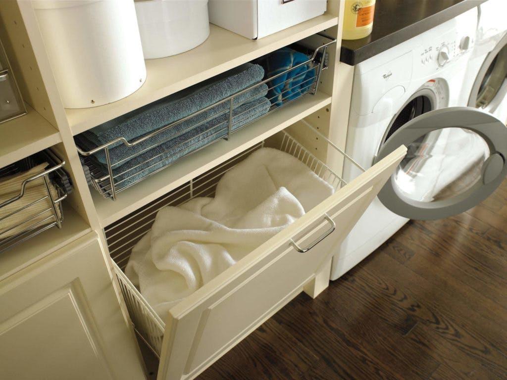 A laundry organizer.