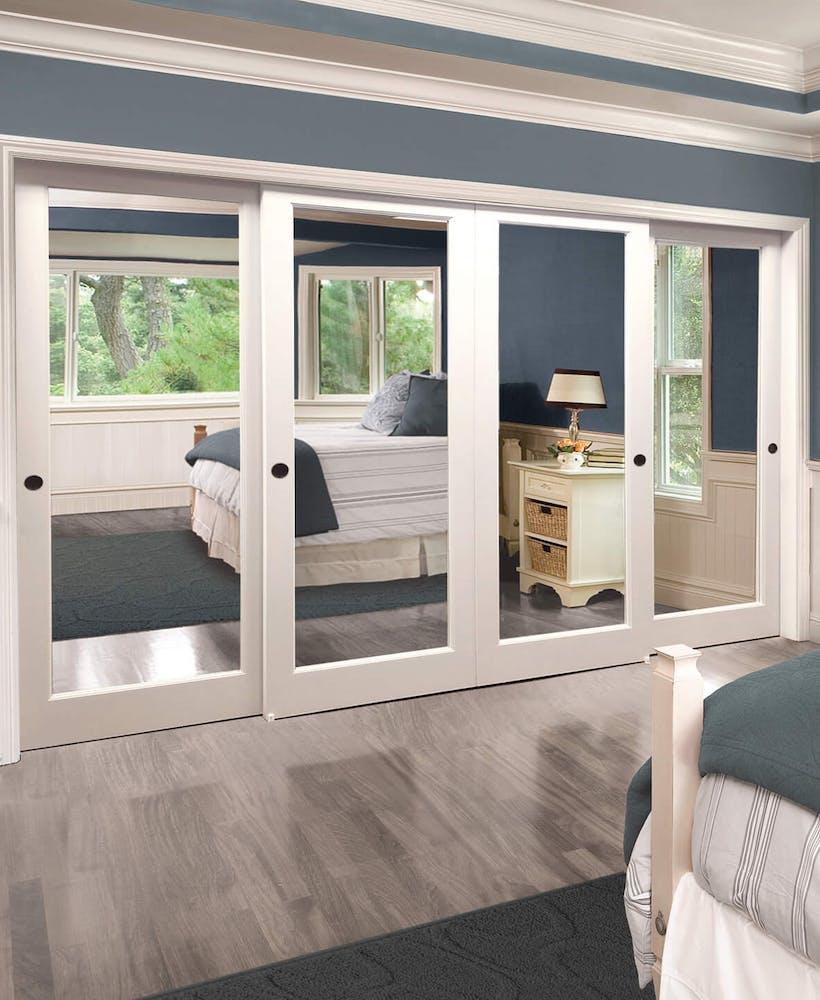 One Day Doors & Closes custom closet doors.
