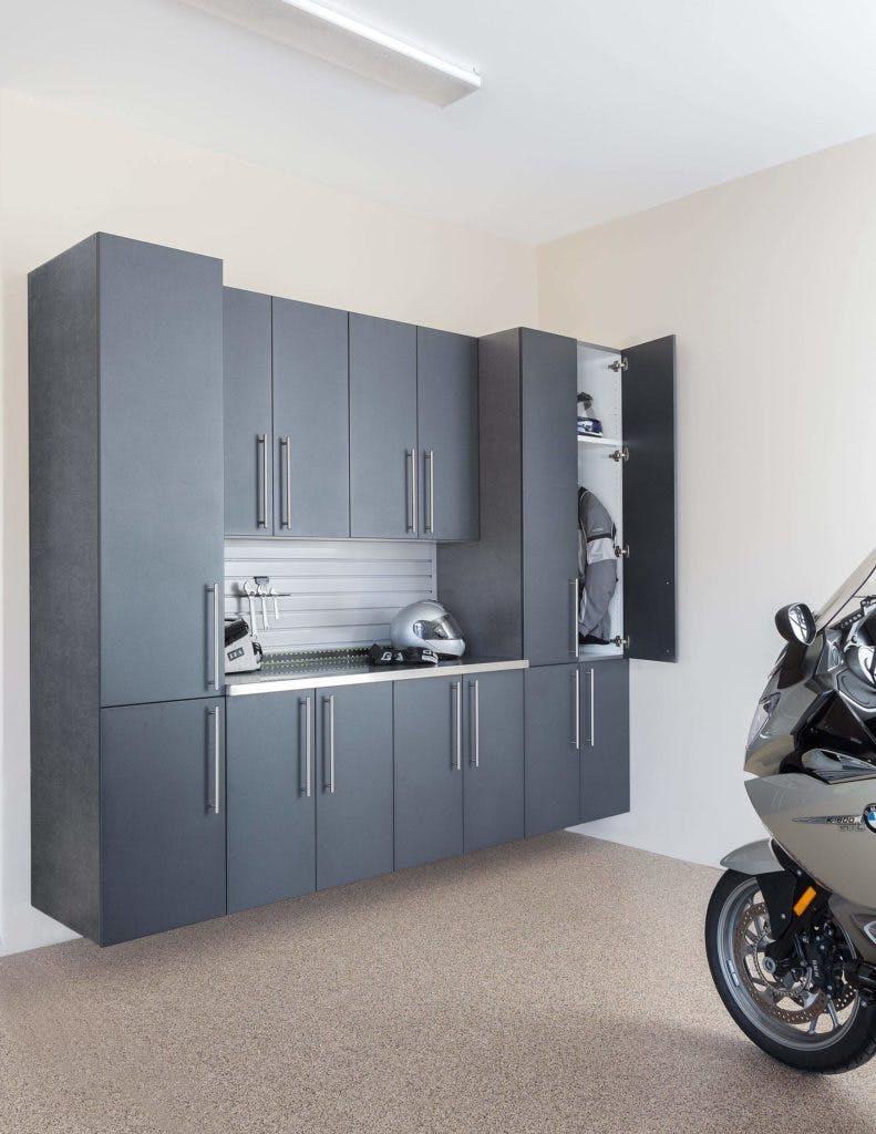 Garage Storage Granite Pewter