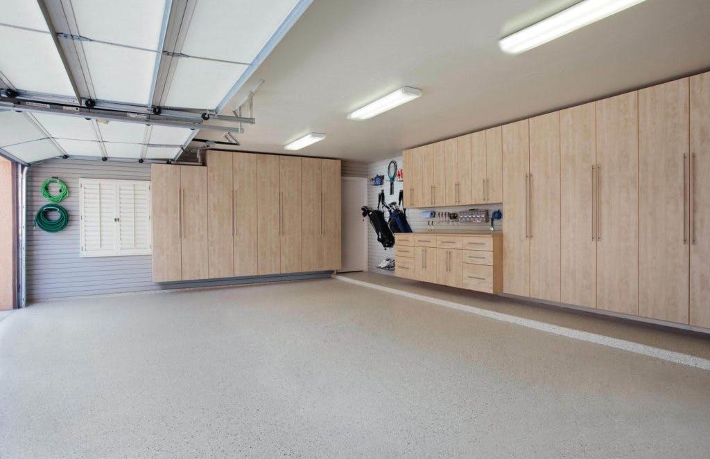 Garage Storage Cabinets Maple