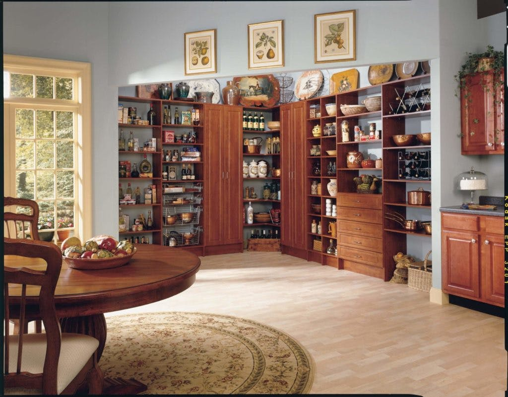Pantry Systems - One Day Doors & Closets
