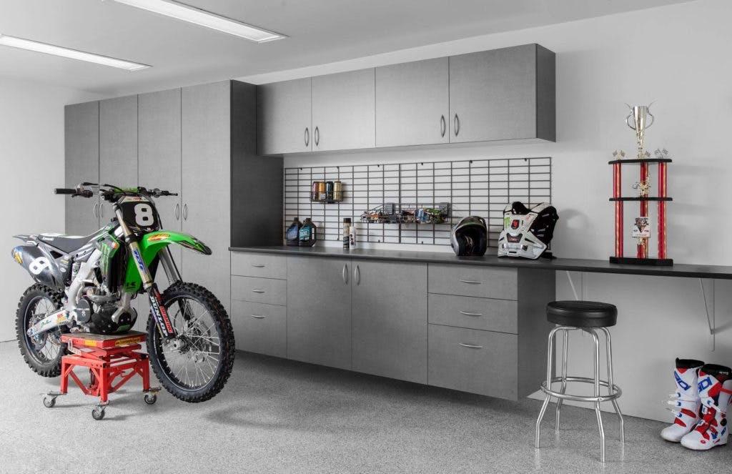 Garage Storage Pewter Extruded