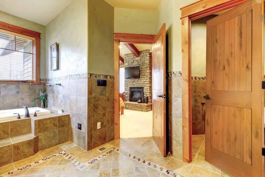 Interior Doors Authentic Wood 2-Panel