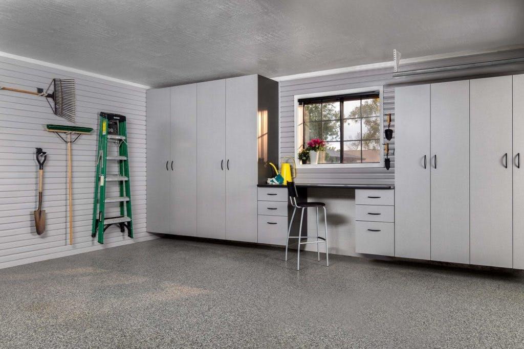 Garage Storage White