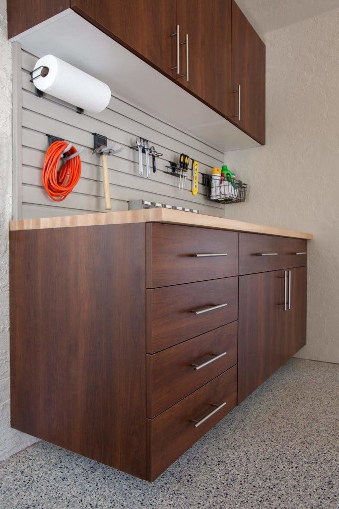 Garage Storage Coco Butcher Block