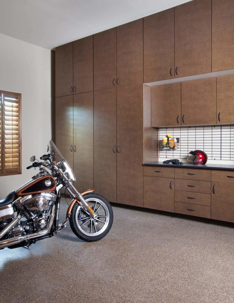 Garage Storage Bronze Cabinet