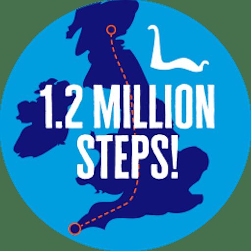 1.2 million steps