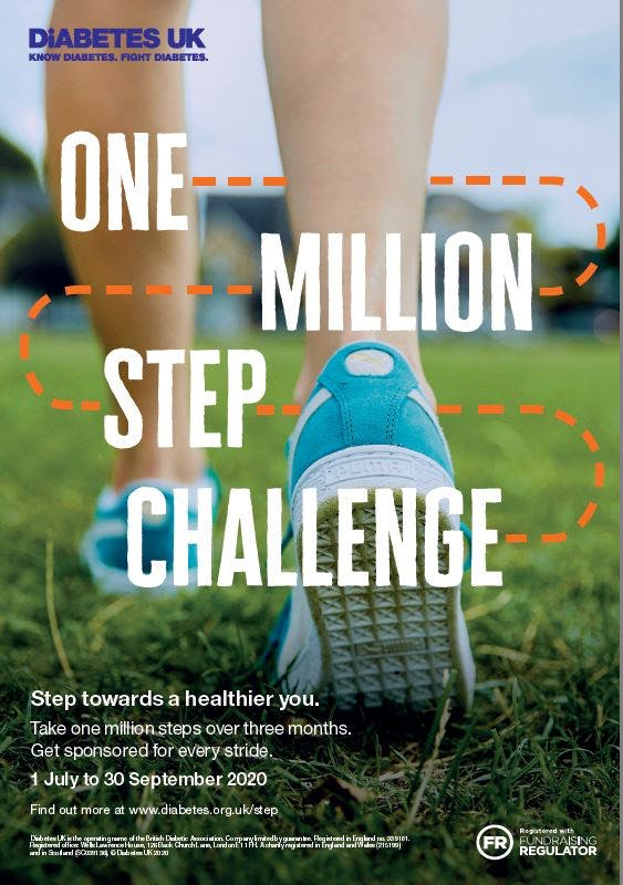 Step Challenge Poster