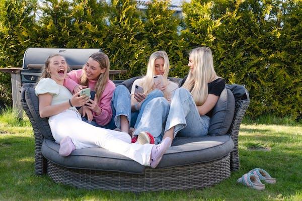 Søstrene Lindland har alle FamiliePakka
