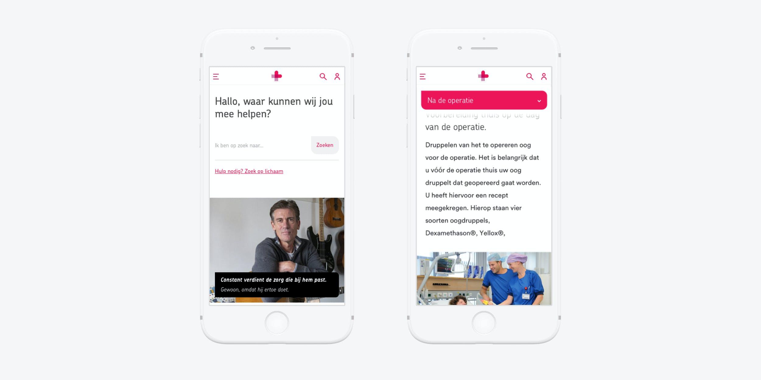 Drupal website voor Jeroen Bosch Ziekenhuis