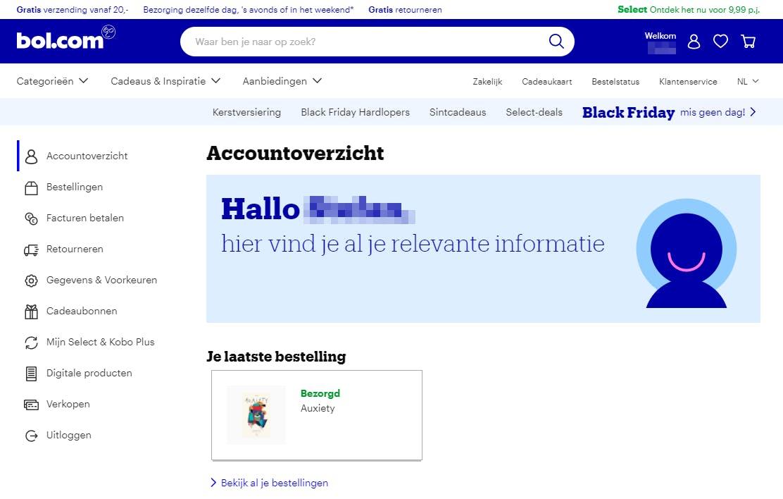 Self-service portal van Bol.com