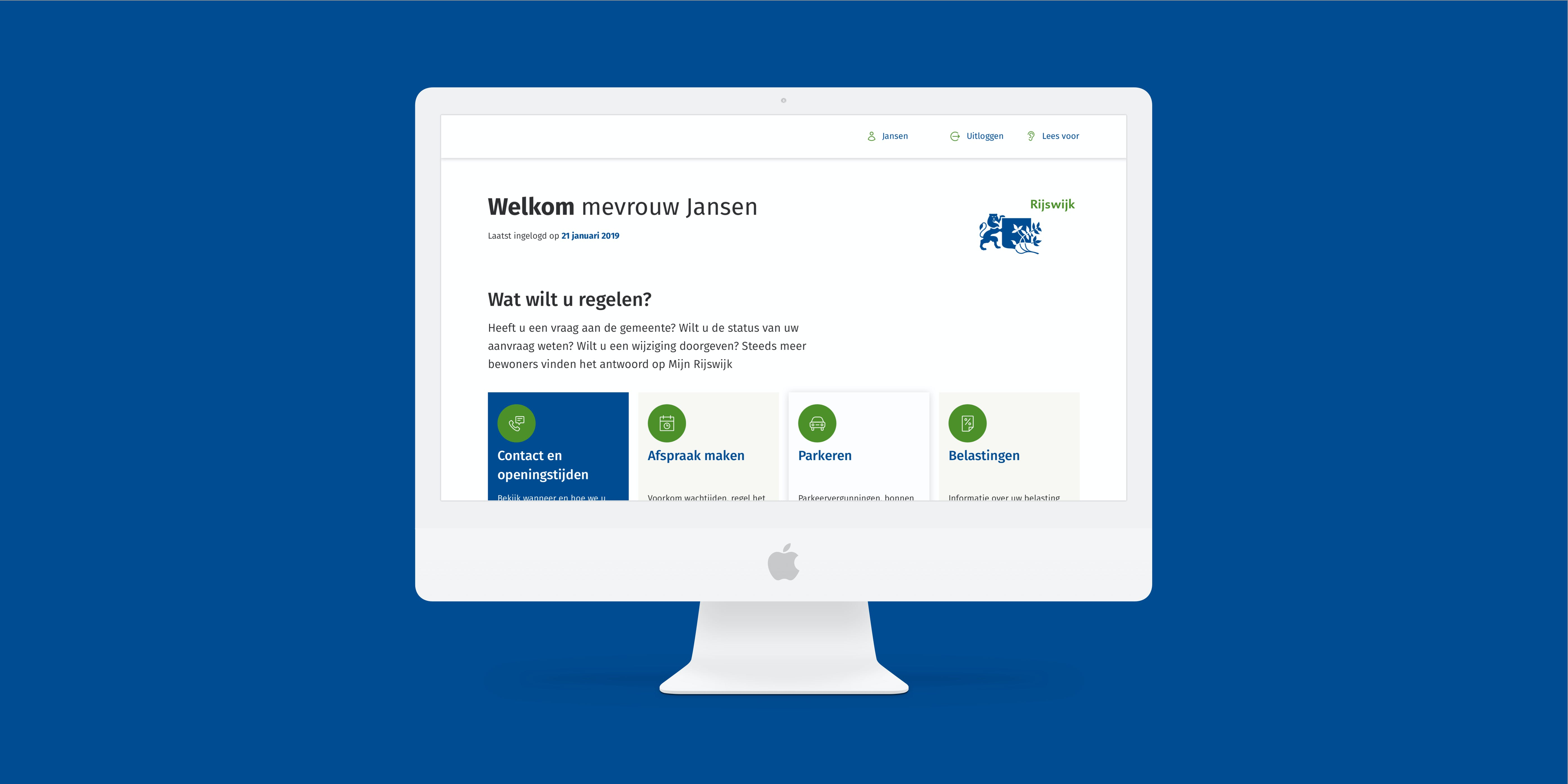 Self-Service portal voor de Gemeente Rijswijk
