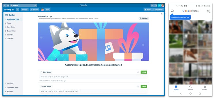 De User Onboarding van Trello