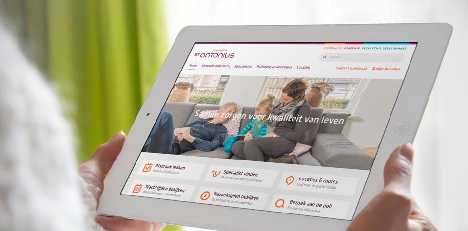 St. Antonius Ziekenhuis Drupal Website