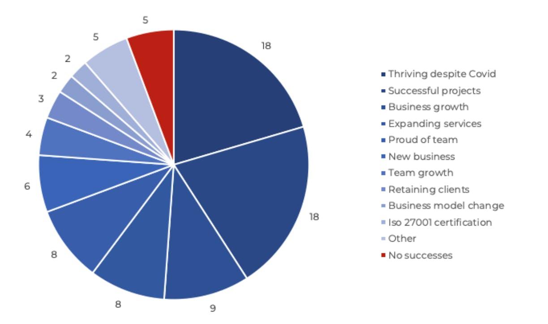 Drupal Business Survey 2020 Greatest Successes