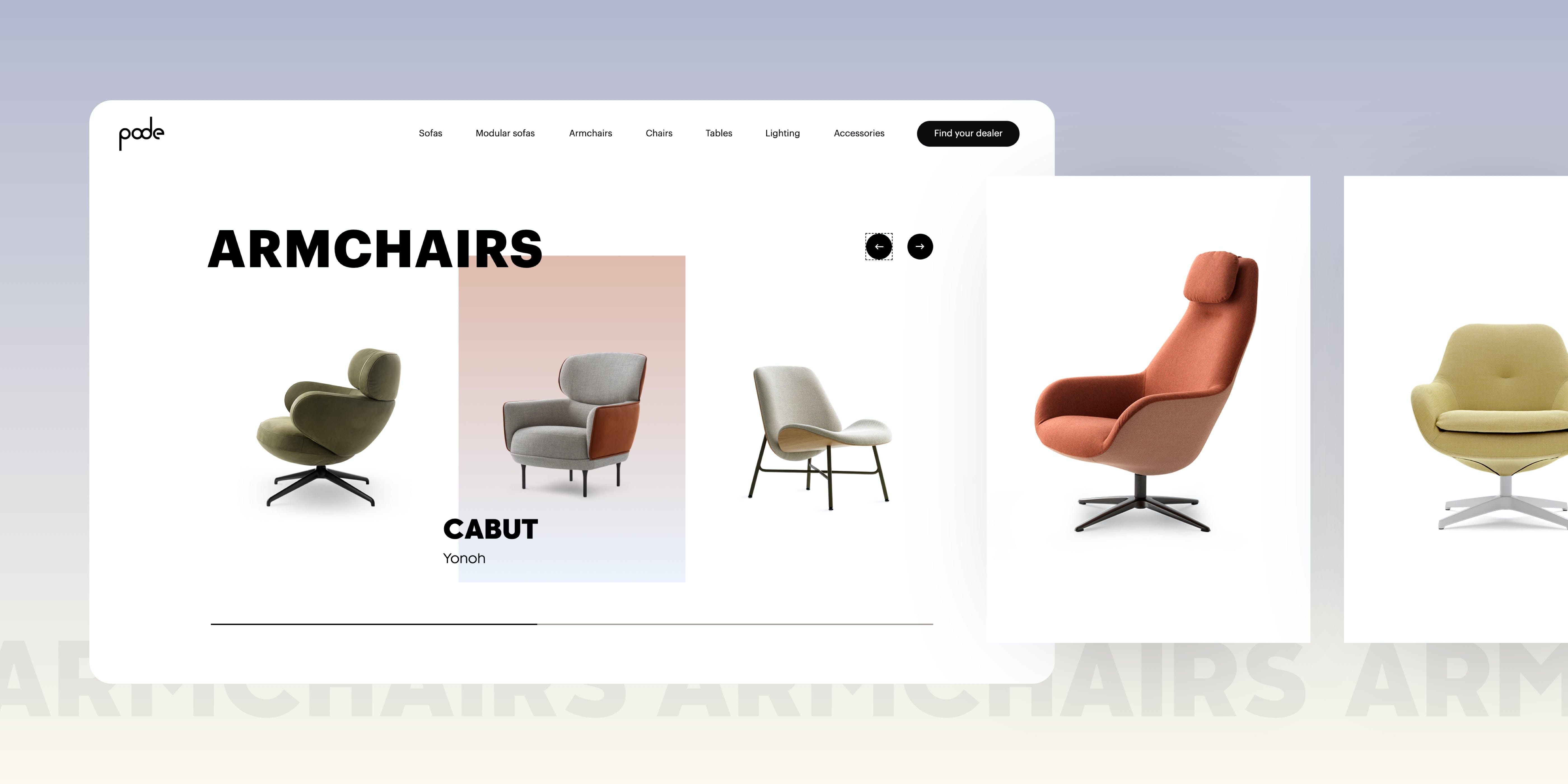 premium digital brand experience Pode