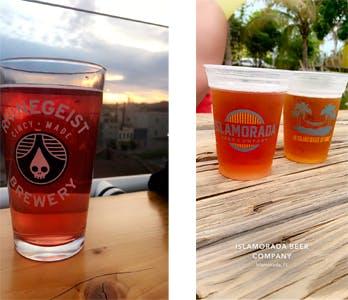 Rhinegeist beer pints