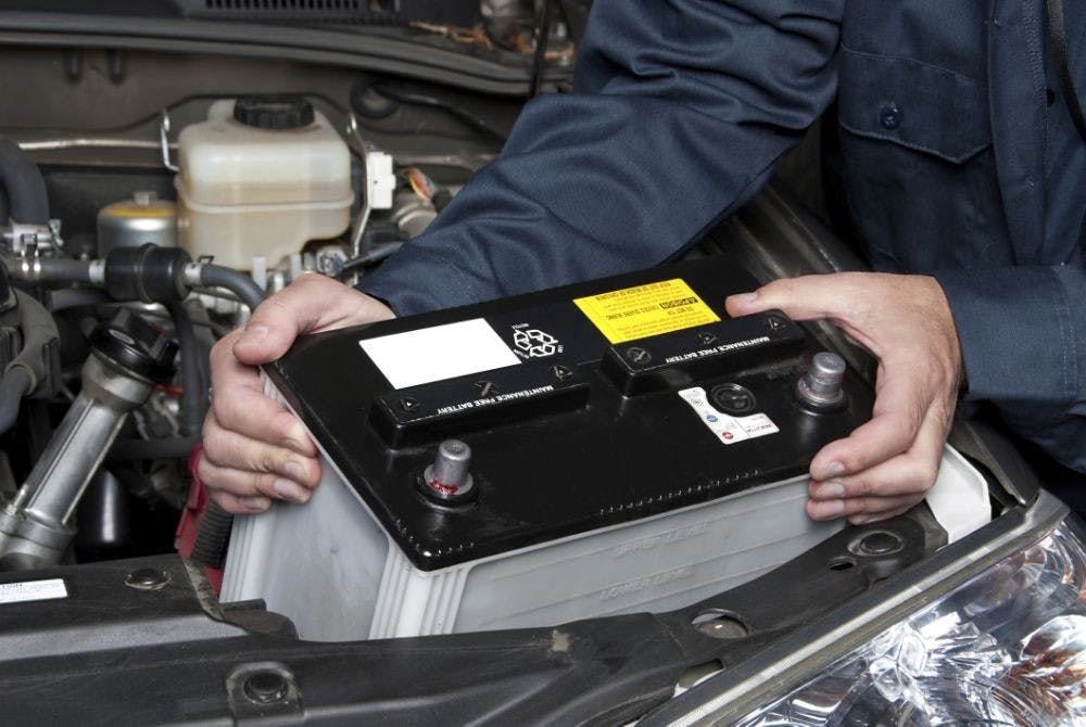 Will my battery go flat if I'm not using my vehicle?
