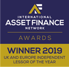 International Asset Finance Network Awards 2019 logo