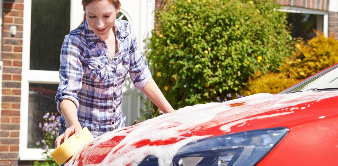 Cleaning your vehicle with household products