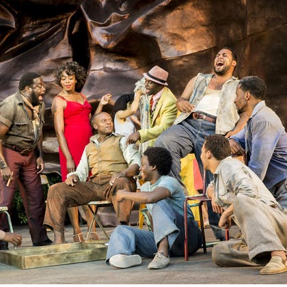 Jay Marsh in The Gershwins' Porgy and Bess