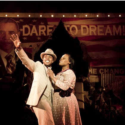 Tamsin Carroll in Ragtime the Musical