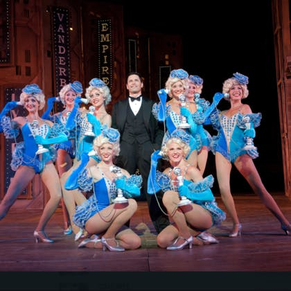 Mike Walker in Crazy For You West End