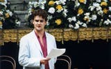 Hugh Bonneville in Arms and the Man (1986)