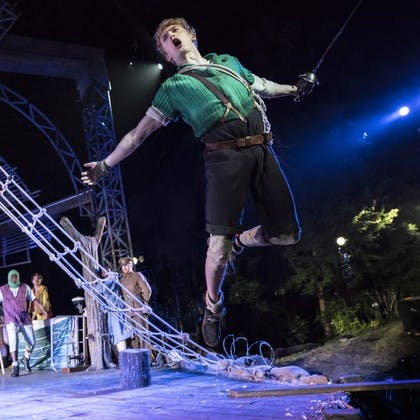 Wired Aerial Theatre in J.M. Barrie's  Peter Pan