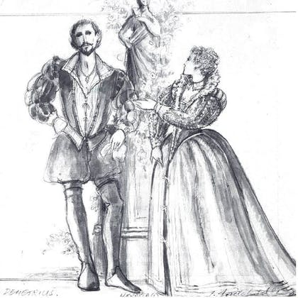 Paul Raffield in The Taming of the Shrew