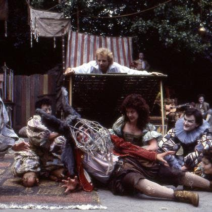 Hugh Bonneville in Midsummer Night's Dream