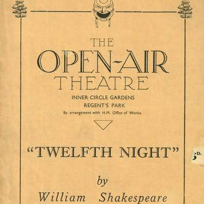 Robert Atkins in Twelfth Night
