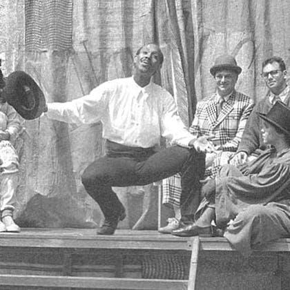 Roy Hudd in The Fantasticks