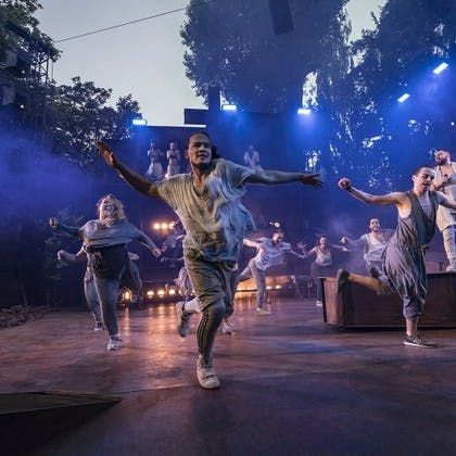 Tim Newman in Jesus Christ Superstar