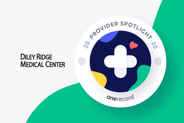 Diley Ridge Medical Center OneRecord Provider Spotlight Medallion