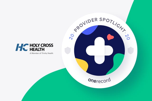Holy Cross Health Provider Spotlight Medallion
