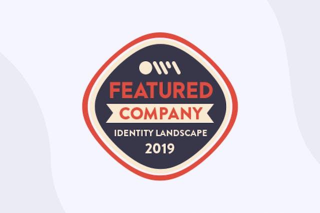 2019 Identity Industry Landscape award