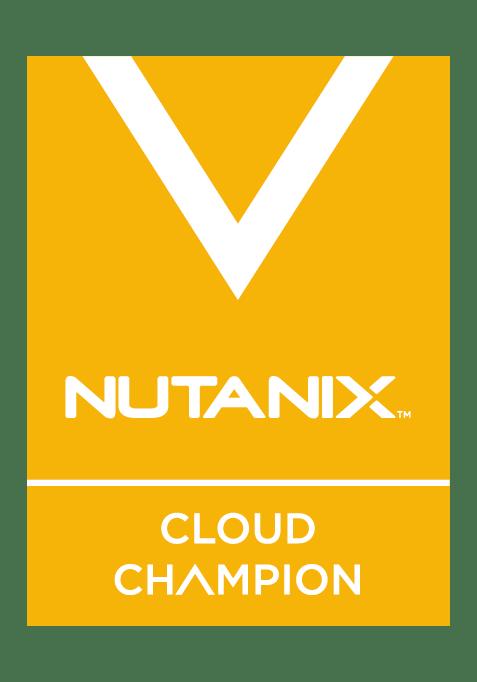 Nutanix Cloud Champion