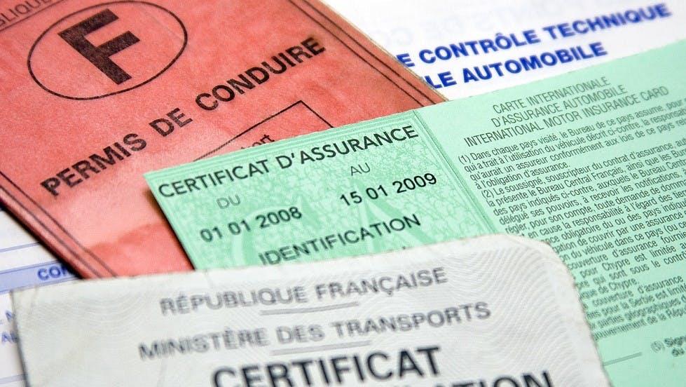Certificat d'assurance vert