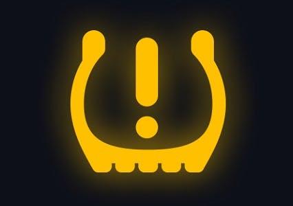 Voyant relatif à la pression des pneumatiques