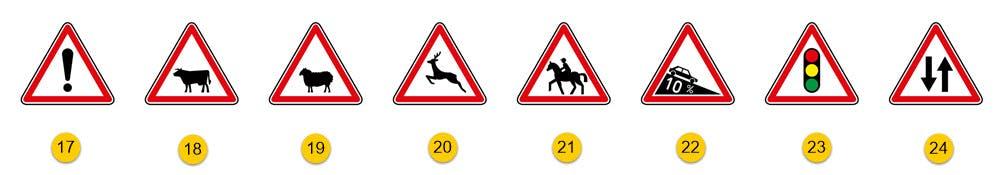 les panneaux de danger partie 4
