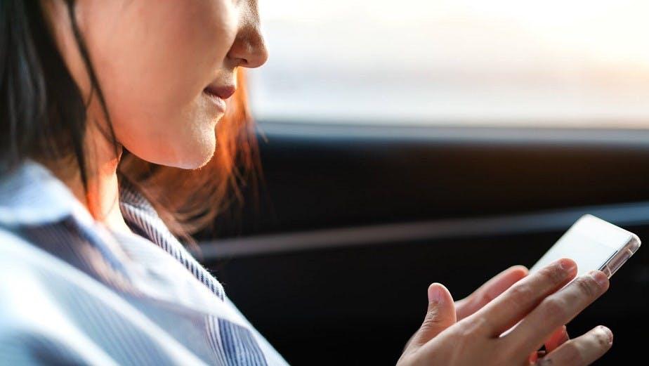 Candidate consultant ses resultats a l'examen du code de la route