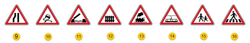 les panneaux de danger partie 2