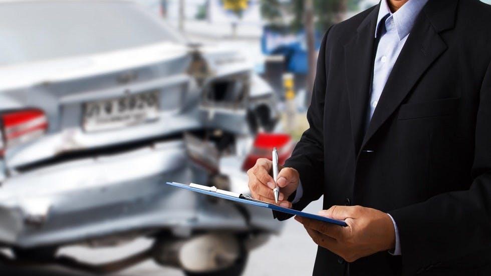 Realisation d'une expertise suite a un accident de la route