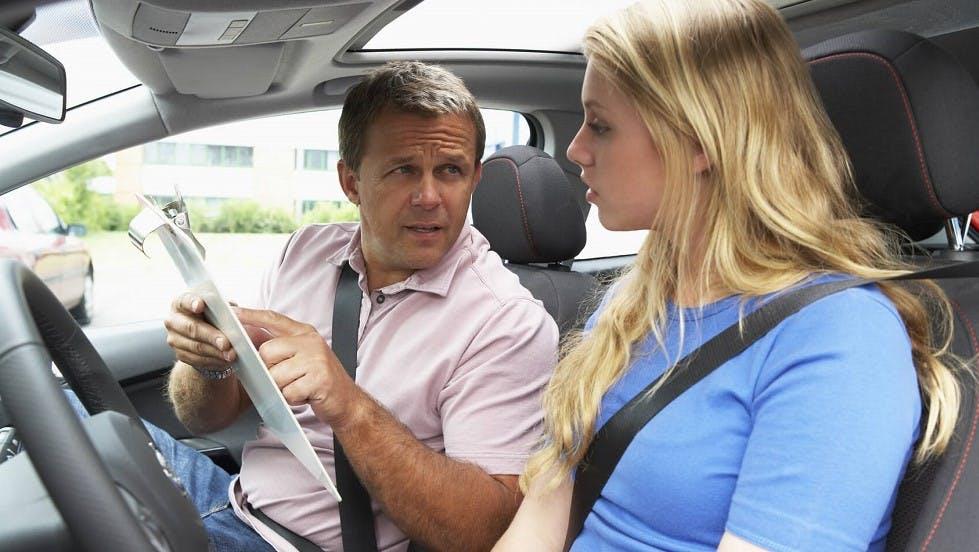 Candidate ayant commis une faute a l'examen du permis de conduire