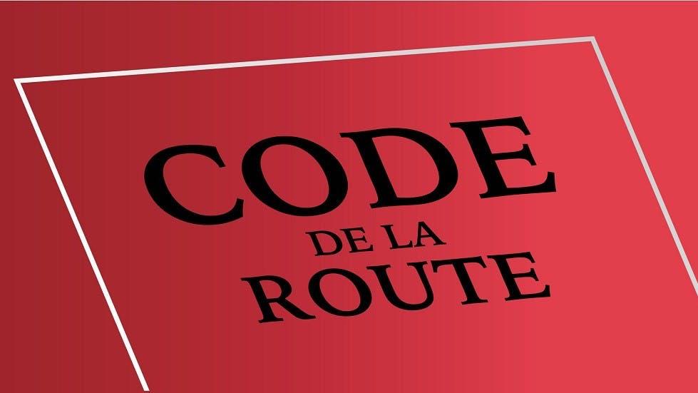 Code de la route rouge
