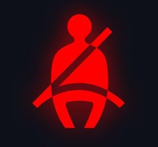 Voyant de bouclage de ceinture de sécurité