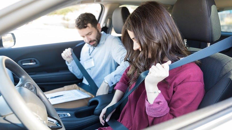 Presentation a l'examen pratique du permis de conduire