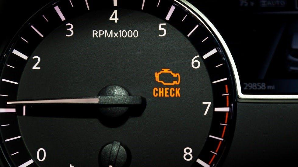 Voyant d'alerte moteur