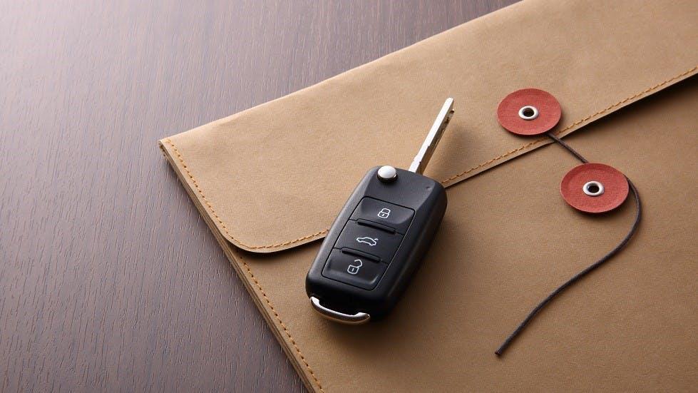 Courrier pour l'assurance auto